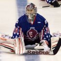 Philipp Grubauer, this time in a Stars and Stripes jersey. (M Richter)