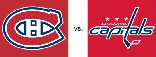 Montreal Canadiens vs Washington_Capitals
