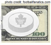 Maple Leafs money clip