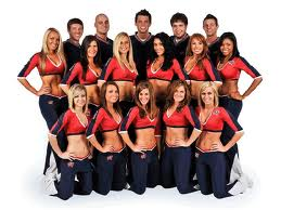 Columbus Blue Jackets Ice Girls and Cannon Crew