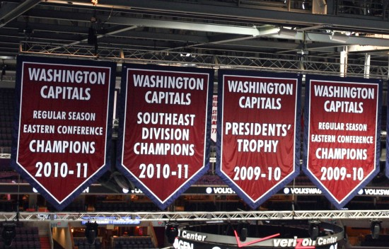 New Banners Draw the Ire Of Caps Fans - Capitals Outsider f0775f91df4